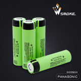 Rechargeble 18650 Lithium-Batterie 3.7V 3400 Milliamperestunde Panasonic NCR18650b