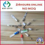 Clip bon marché de PVC de divers types pour la carte d'identification de lanière