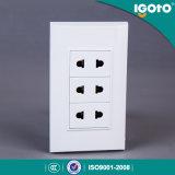 10A 250V 3 Banda 2 Pin Socket