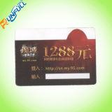 O ISO inteiro do PVC da venda carda o cartão do disconto da impressão de cor do tamanho Cmyk/Pantone
