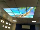 El panel mágico del LED con los cuadros
