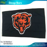 Bandeira da equipe do urso do poliéster NFL Chicago