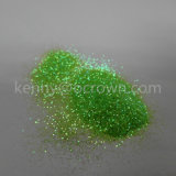 Scintillement vert pomme de couleur