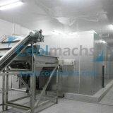 Schnelle Gefriermaschine-süsser Mais-Tiefkühlverfahren-Gefriermaschine-Maschine der Böe-Gefriermaschine-IQF