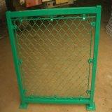 Гальванизированная или PVC Coated временно конструкции звена цепи загородка