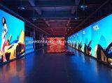 La mejor calidad P6 LED exterior a todo color que hace publicidad de la cartelera