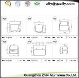 Extrusion en aluminium/vue en coupe de profils pour l'éclairage LED