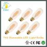 Stoele T45 UL Listed Dimmable Atacado LED Nostalgia Bulbos