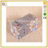 Rectángulo de papel de encargo de Currugated para los juguetes Pacaking de los niños