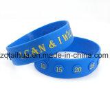Wristband feito sob encomenda do silicone da cópia com Thb-055