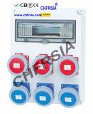 Socket industrial Combinación caja de alimentación, caja de protección eléctrica