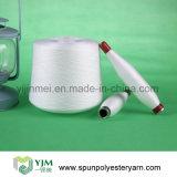 Hilados de polyester hechos girar del Ne 40/2 en cono de teñido