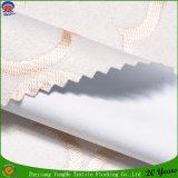 Tela tejida franco impermeable de capa de la cortina del apagón del poliester