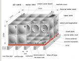 Réservoir de stockage de l'eau de l'acier inoxydable 304