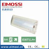 Luz do anteparo do sinal da saída Emergency do diodo emissor de luz IP65 com luz Emergency de Ce/Arabic