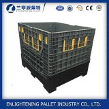 Recipientes de paletes plásticos de grande porte para uso industrial