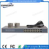 16fe interruptor do ponto de entrada da rede ponto de entrada + 2ge + 2SFP (POE1622SFP-2)