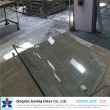 Vidro temperado / temperado curvado / curvado para móveis / vidro de construção