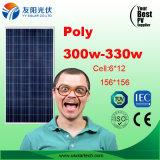 Mono poli comitato solare poco costoso caldo di 100W150W 200W 250W 300W in azione