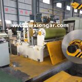 Hojas de acero y máquina de la cortadora de las bobinas