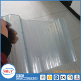 Beste Preis-Antiabsinken-verschiedene Profil-gewölbte Polycarbonat-Kristallplatte