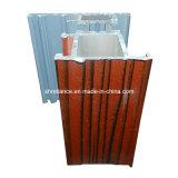 Profilo di legno del grano espulsione di alluminio/di alluminio per la finestra (RA-015)