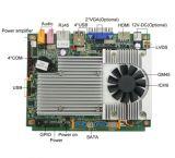 Mini scheda madre della visualizzazione dell'annuncio di CC 12V dell'Intel GM45 con la scheda di 4*COM /CF