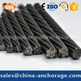 ASTM416 12,7 mm 7 Wire PC Strand