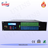 EDFA de 1550nm com Wdm Potência de saída alta Erbium Doped Optical Fiber Amplifier