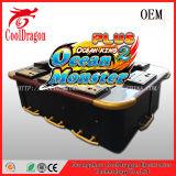 monstruo del océano de la máquina de juego de la pesca 3D más juegos del casino del juego de la pesca del dragón del trueno