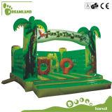 Дом прыжока замока Китая игрушки малышей шальная продавая раздувная для малышей