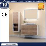 Nuova mobilia del Governo di vanità della stanza da bagno della melammina di disegno con l'indicatore luminoso dello specchio