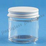 ふたが付いている低価格30-90mlの小さい小型缶詰になる石大工のガラス瓶