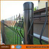 Frontière de sécurité soudée par noir de treillis métallique pour l'arrière-cour