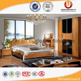 A base dobro de madeira moderna projeta a base do quarto (UL-C07)
