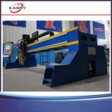 Type portique coupeur de plaque métallique de tôle d'acier de flamme de plasma du découpage Machine/CNC