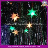 Hängender hohe Partei-aufblasbarer Luft-Stern für Dekoration