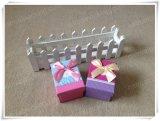 Rectángulo de papel de empaquetado de la alta calidad de la cartulina de la impresión del regalo de encargo barato al por mayor de la promoción
