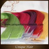 Nastro di colore del Rainbow di prezzi all'ingrosso nelle estensioni dei capelli