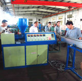 Linha de revestimento do PVC /PE para a mangueira do gás do metal