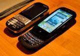 De paume téléphone portable pré