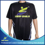 Sublimation su ordinazione Sports Bowling Clothing per Bowling Game Tops