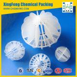 Polipropileno PP PE Poliédrica la bola del hueco de plástico Bio Filter Media