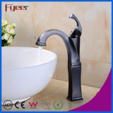 Fyeer Oil Rubber Bronze High Body Cheap Bathroom Copper Faucet