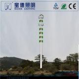 luces poligonales del Alto-Mástil de los 30m Q345 Steet