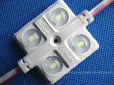 5730 la venta caliente 3LED/PC impermeabiliza el módulo de la inyección LED