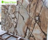 チューリップのブラウンの大理石、ベストセラーの大きい平板のタイル