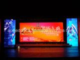 Étalage d'écrans visuel de mur du service avant d'intérieur DEL P2.5 P3 P4 P5 P6