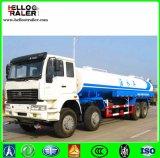 2017 precio caliente del carro del tanque de agua del carro de petrolero del aerosol de agua de Sinotruk HOWO de la venta 15m3