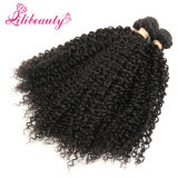 Pelo humano natural de la cutícula llena rizada mongol del pelo rizado